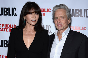 Michael Douglas 'The Library' Opening Night Celebration