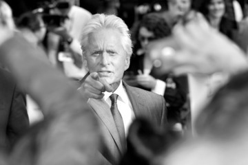 Michael Douglas Marvel's 'Ant-Man' - European Premiere - Red Carpet Arrivals
