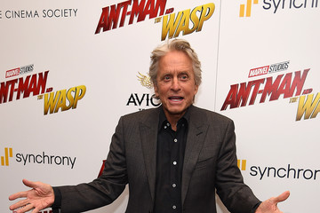 Michael Douglas 'Ant-Man And The Wasp' New York Screening