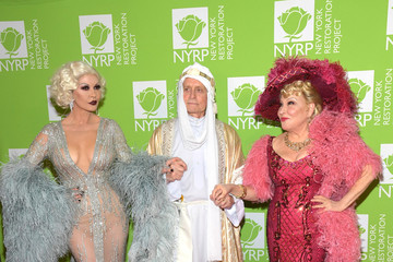 Michael Douglas Bette Midler's Hulaween To Benefit NYC Restoration Project