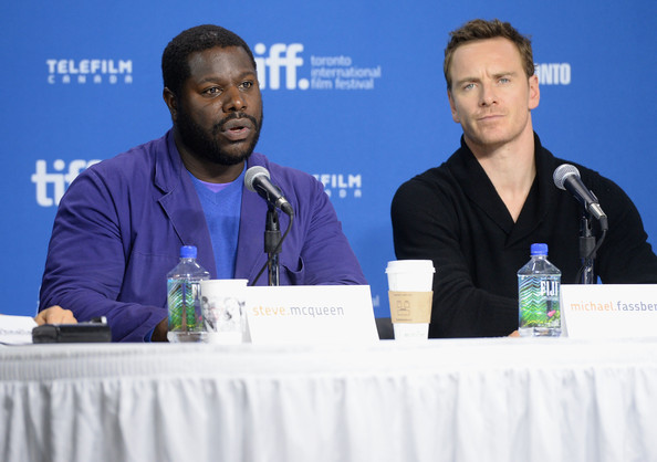 Michael Fassbender at the '12 Years a Slave' Press Conference at TIFF