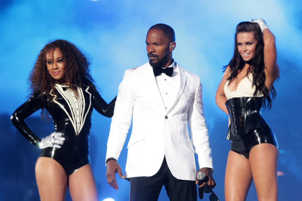 Jamie+Foxx in Michael Forever Tribute Concert