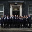 Michael Goodfellow Winter Olympic Medal Winners at Downing Street
