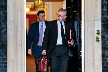Michael Gove Ministers Attend Theresa May's Inner Brexit Cabinet Meeting