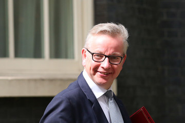 Michael Gove Theresa May's Re-Shuffled Cabinet Meets for the First Time