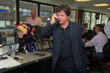 Michael J. Fox Annual Charity Day Hosted By Cantor Fitzgerald And BGC - Cantor Fitzgerald Office - Inside