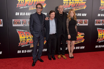Michael J. Fox Lea Thompson 'Back to the Future' New York Special Anniversary Screening