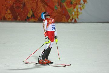 Michael Janyk Alpine Skiing - Winter Olympics Day 15