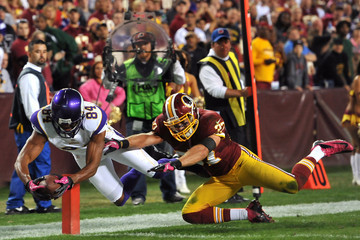 Michael Jenkins Minnesota Vikings v Washington Redskins