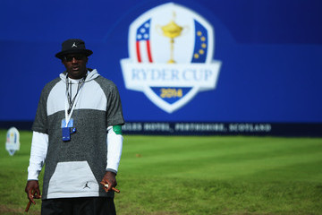 Michael Jordan Afternoon Foursomes - 2014 Ryder Cup