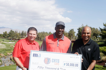 Michael Jordan ARIA Resort & Casino's 13th Annual Michael Jordan Celebrity Invitational At Shadow Creek - Day 3