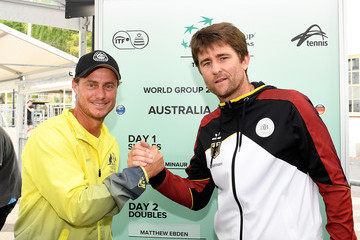 Michael Kohlmann Official Draw: Davis Cup World Group First Round - Australia v Germany