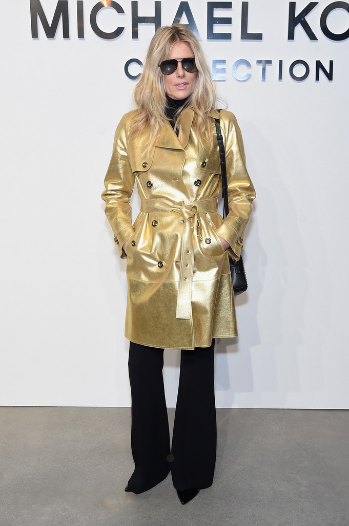Patti Hansen in Michael Kors Collection Fall 2017 Runway ...