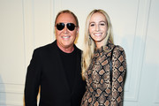 Michael Kors and Harley Viera-Newton pose backstage during the Michael Kors Collection Spring 2020 Runway Show on September 11, 2019 in Brooklyn City.