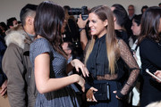 Atlanta de Cadenet Taylor (L) and Riley Keough attend the Michael Kors Fall 2016 Runway Show during New York Fashion Week: The Shows at Spring Studios on February 17, 2016 in New York City.
