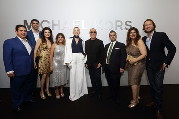 Michael Kors Lance Le Pere Michael Kors Mandarin Gallery Flagship Store Opening Cocktail Party
