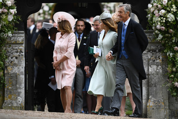 Michael Middleton Wedding of Pippa Middleton and James Matthews