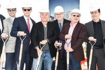 Michael Overington Ian Schrager And Douglas Elliman Break Ground At 160 Leroy