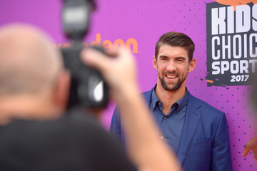 Michael Phelps Nickelodeon Kids' Choice Sports Awards 2017 - Arrivals