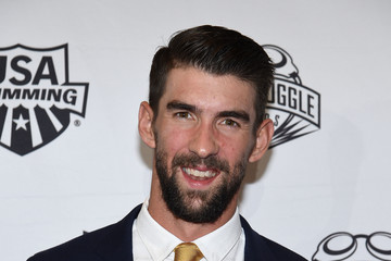 Michael Phelps 2017 Golden Goggle Awards