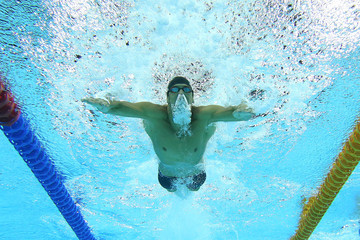 Michael Phelps 2014 Pan Pacific Championships: Day 4