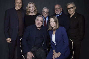 Michael Phillips 'Taxi Driver' 40th Anniversary Screening Cast Portrait - 2016 Tribeca Film Festival