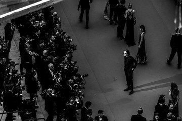 Michael Pitt Alternative View In Black & White - The 71st Annual Cannes Film Festival