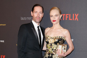 Michael Polish 2016 Weinstein Company And Netflix Golden Globes After Party - Arrivals