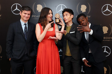 Michael Schur D'Arcy Carden 78th Annual Peabody Awards Ceremony Sponsored By Mercedes-Benz - Press Room