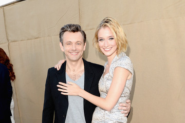 Michael Sheen Caitlin Fitzgerald CW, CBS And Showtime 2013 Summer TCA Party - Red Carpet