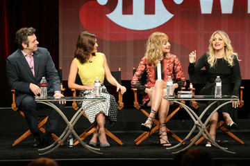 Michael Sheen Caitlin Fitzgerald 2015 Summer TCA Tour - Day 15