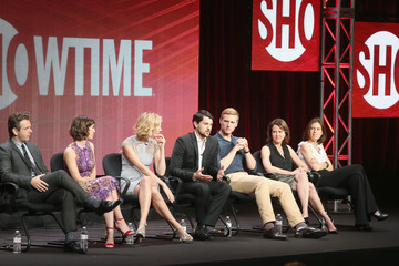 Michael Sheen Caitlin Fitzgerald 2013 Summer TCA Tour - Day 7