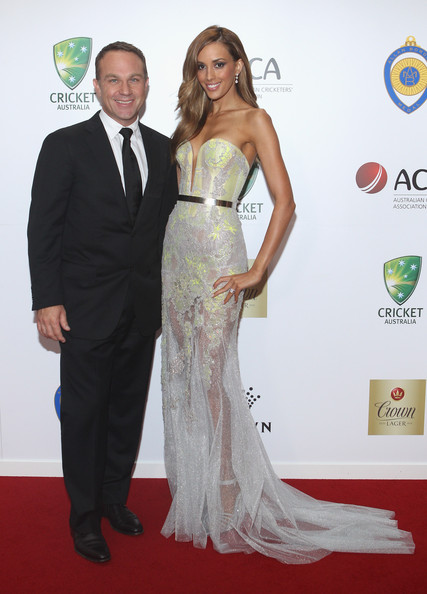 Michael Slater and Rebecca Judd - 2012 Allan Border Medal Awards