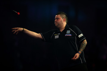 Michael Smith 2017 William Hill PDC World Darts Championships - Day One