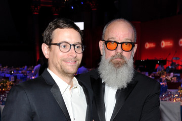 Michael Stipe Elton John AIDS Foundation's 15th Annual An Enduring Vison Benefit at Cipriani Wall Street