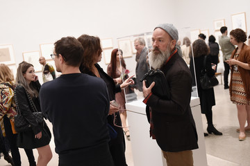 Michael Stipe Brooklyn Museum Celebrates Marilyn Minter And Iggy Pop at Opening Night Event