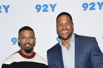 Michael Strahan 92nd Street Y Presents Jamie Foxx in Conversation With Michael Strahan