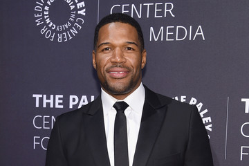 Michael Strahan The Paley Center For Media Hosts A Tribute To African-American Achievements in Television