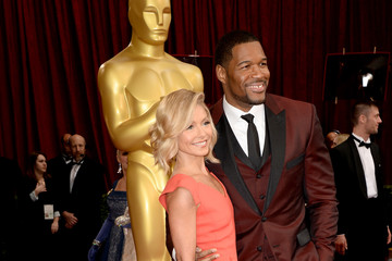 Michael Strahan Kelly Ripa Arrivals at the 86th Annual Academy Awards — Part 14