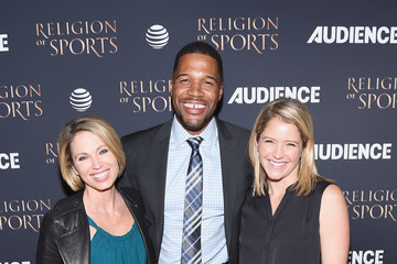 Michael Strahan AT&T Audience Network Celebrates the 'Religion of Sports'