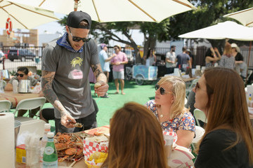 Michael Voltaggio 4th Annual Crab Cake LA Fundraiser Event Presented by Cadillac and Agavero to Benefit Chrysalisa