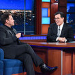 "Michael Weatherly CBS's ""The Late Show with Stephen Colbert"" - Season Two"