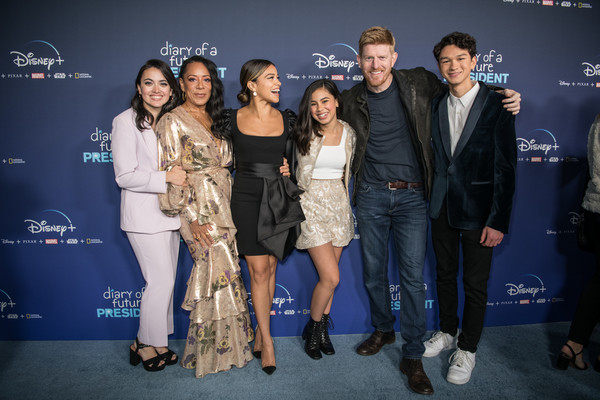 "Premiere Of Disney +'s ""Diary Of A Future President"" - Red Carpet"