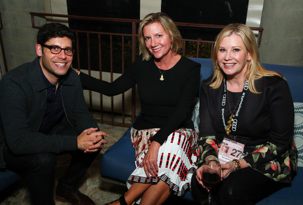 2019 Hamptons International Film Festival - Day One [day one,social group,event,fashion,fun,smile,team,mary adelle barry,anne chaisson,michael weber,l-r,wolffer estate,sagaponack,new york,hamptons international film festival,party]