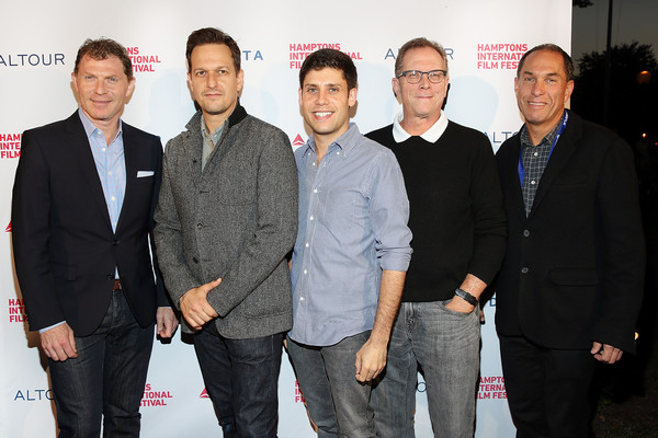The 23rd Annual Hamptons International Film Festival - Day 1 [event,premiere,white-collar worker,bobby flay,marshall fine,josh charles,stuart match suna,michael weber,l-r,east hampton,new york,annual hamptons international film festival]