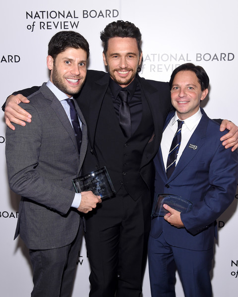 The National Board of Review Annual Awards Gala - Inside [suit,white-collar worker,formal wear,event,premiere,tuxedo,smile,new york city,cipriani 42nd street,national board of review annual awards gala,scott neustadter,james franco,michael weber]