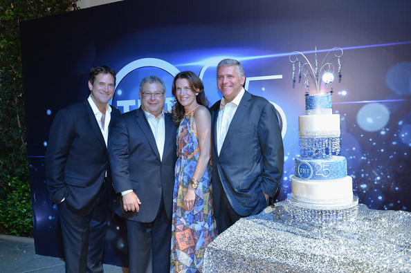 Inside TNT's 25th Anniversary Party [event,suit,formal wear,ceremony,president,michael wright,evp head of business affairs,head of programming tnt,sandra dewey,steve koonin,25th anniversary party,tnt,tbs,tcm]