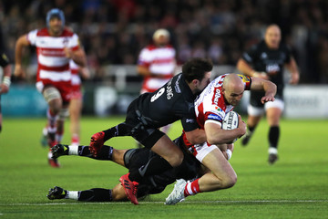 Michael Young Newcastle Falcons v Gloucester Rugby - Aviva Premiership
