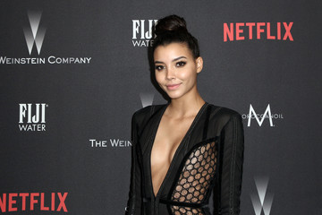 Michaela Rivera The Weinstein Company and Netflix Golden Globe Party, Presented With FIJI Water, Grey Goose Vodka, Lindt Chocolate, and Moroccanoil - Red Carpet