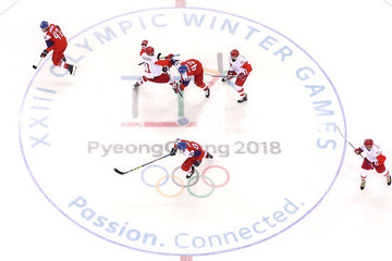 Michal Jordan Ice Hockey - Winter Olympics Day 14